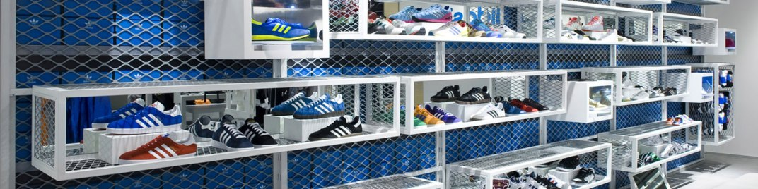 adidas retail store
